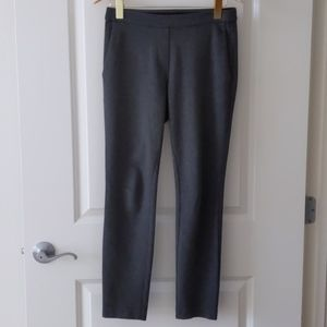 Theory charcoal grey pants